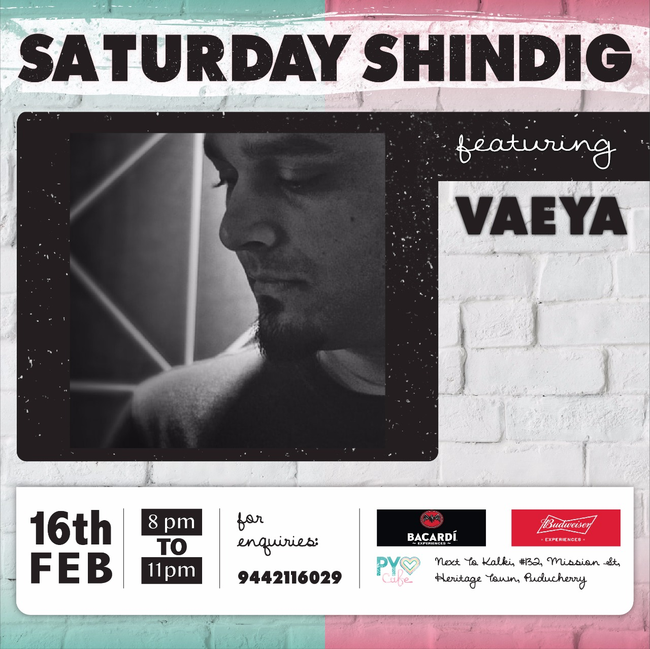 Saturday Shindig featuring VAEYA