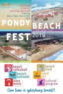 Discover Pondy's Pristine Beaches at Pondy Beach Fest 2019