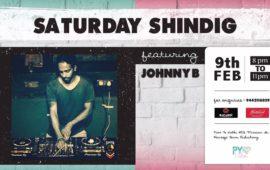 SATURDAY SHINDIG feat Johnny B