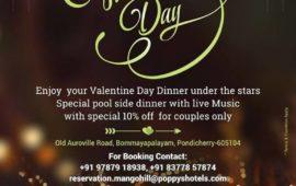 Valentine's Day at Mango Hill Pondicherry