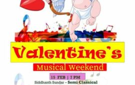 Valentine's Musical Weekend