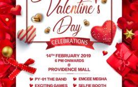Valentine's Day at Providence Mall Pondicherry