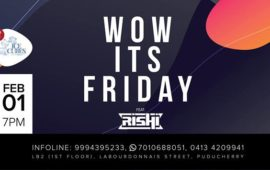 Wow It's Friday with DJ Rishi