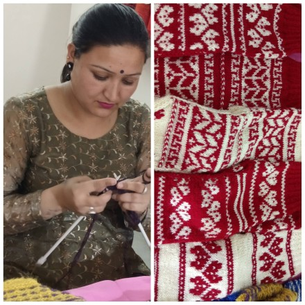 Himachal embroidery at Aadi Mahotsav tribal craft expo