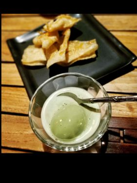 DARSAN WITH MATCHA ICE CREAM DIM SUM