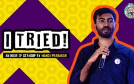 Evam presents I tried by Manoj