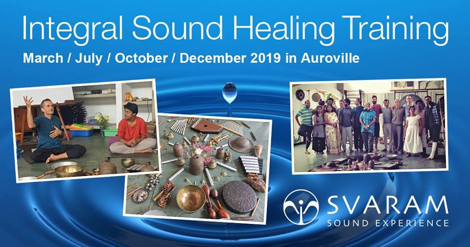 Learn and experience more of Sound and Sound Healing with Aurelio, Joseph Schmidlin