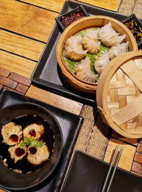 CRYSTAL WRAPPER SEAFOOD DIMSUM AT PROMENADE HOTEL IN PONDICHERRY AT DIM SUM BY THE BAY