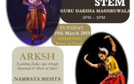 Odissi Dance Workshop & Solo Performance