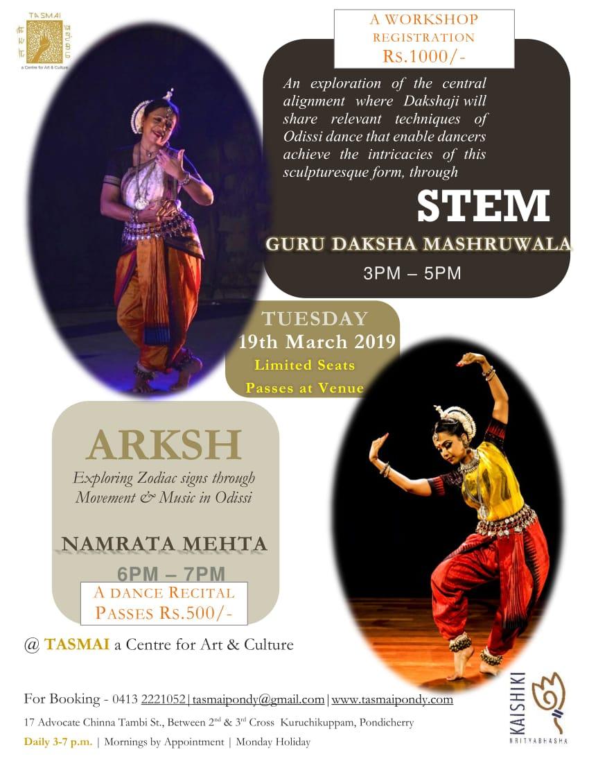 Dance workshop by Dakshaji