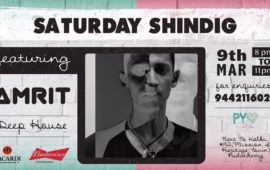 SATURDAY SHINDIG feat AMRIT