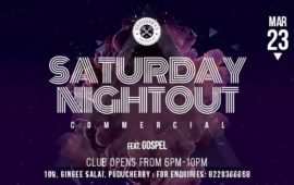 Saturday Nightout DJ Gospel