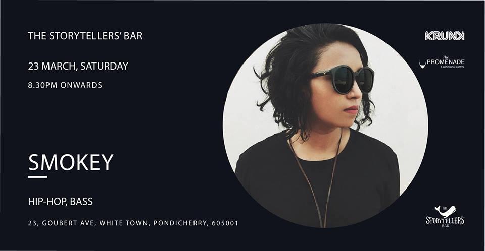 Saturdays ft Smokey at The Storytellers Bar | Pondicherry