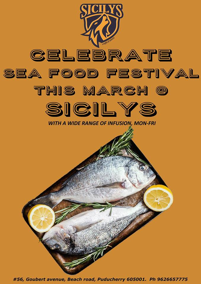 Sea Food festival at Sicilys