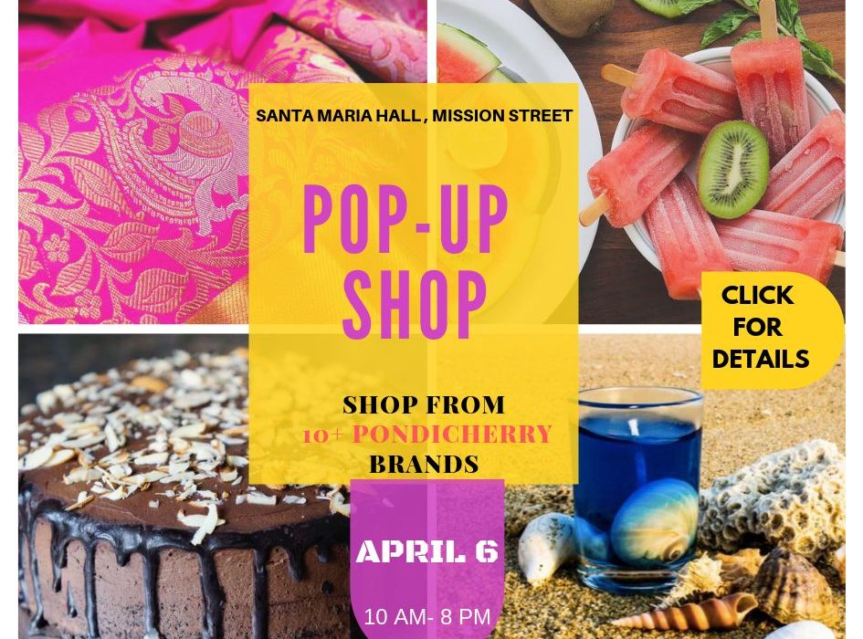 pop up shop in pondicherry by popsicle stories in pondicherry