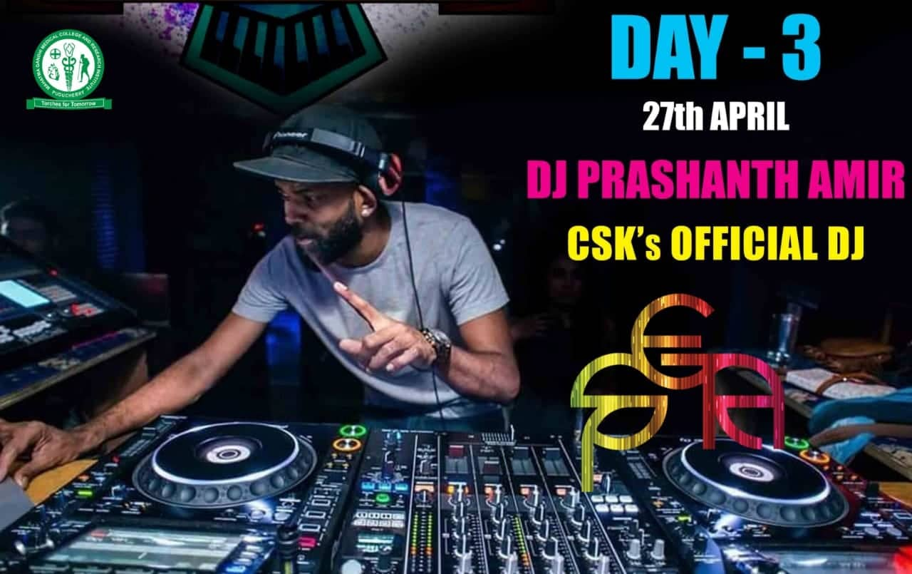 CSK'S Official DJ