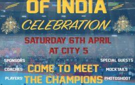 CHAMPION OF INDIA CELEBRATION