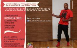 Kizomba Bootcamp With Nelson Campos
