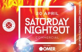 Saturday Nightout – DJ Omer