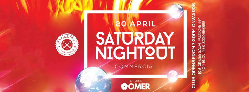 Saturday Nightout - Commercial Ft. DJ Omer