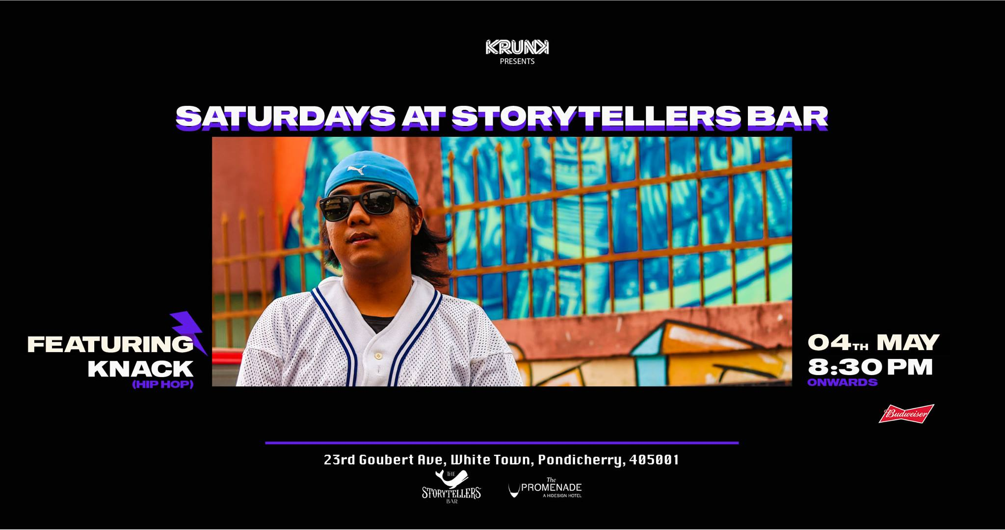 Saturdays ft DJ KNACK at The Storytellers Bar