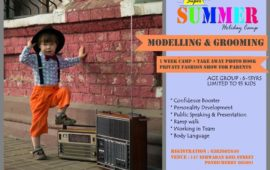 Super Summer Holiday Camp -1 (Modelling & Grooming)