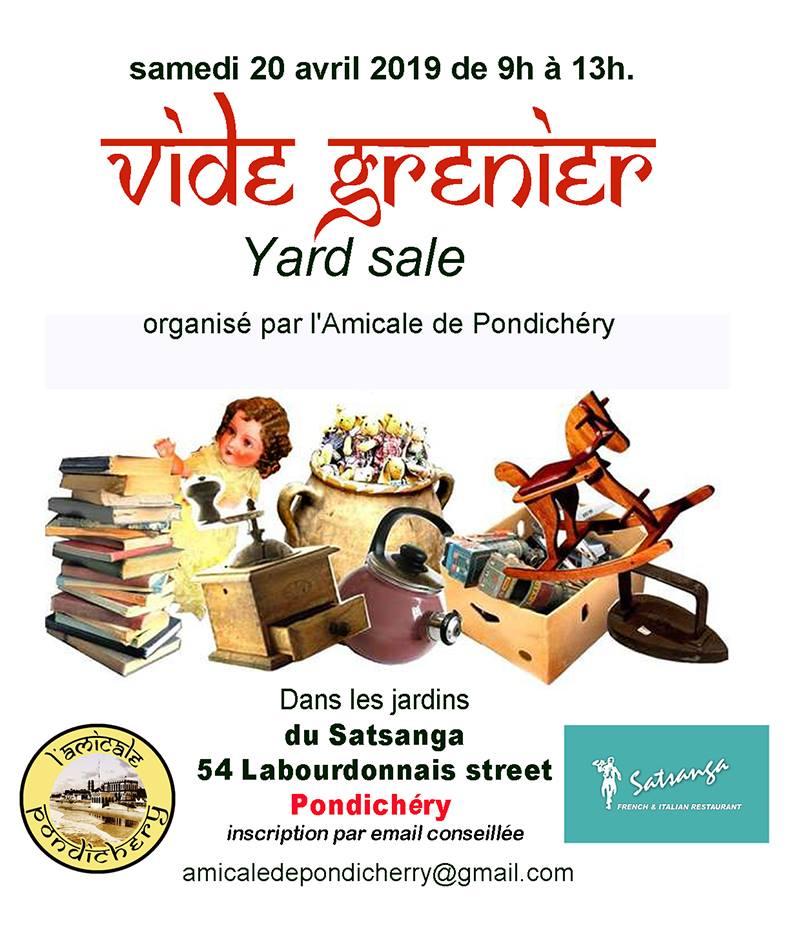 Sprin Yard Sale