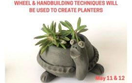 Ceramic Planter Workshop