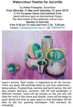 Watercolor Palette for Auroville