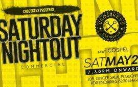 Saturday Nightout DJ Gospel