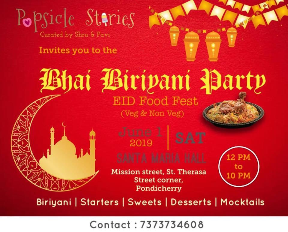Bhai Biriyani Party - EID Food Fest