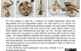 CRAFT FROM NATURAL WASTE