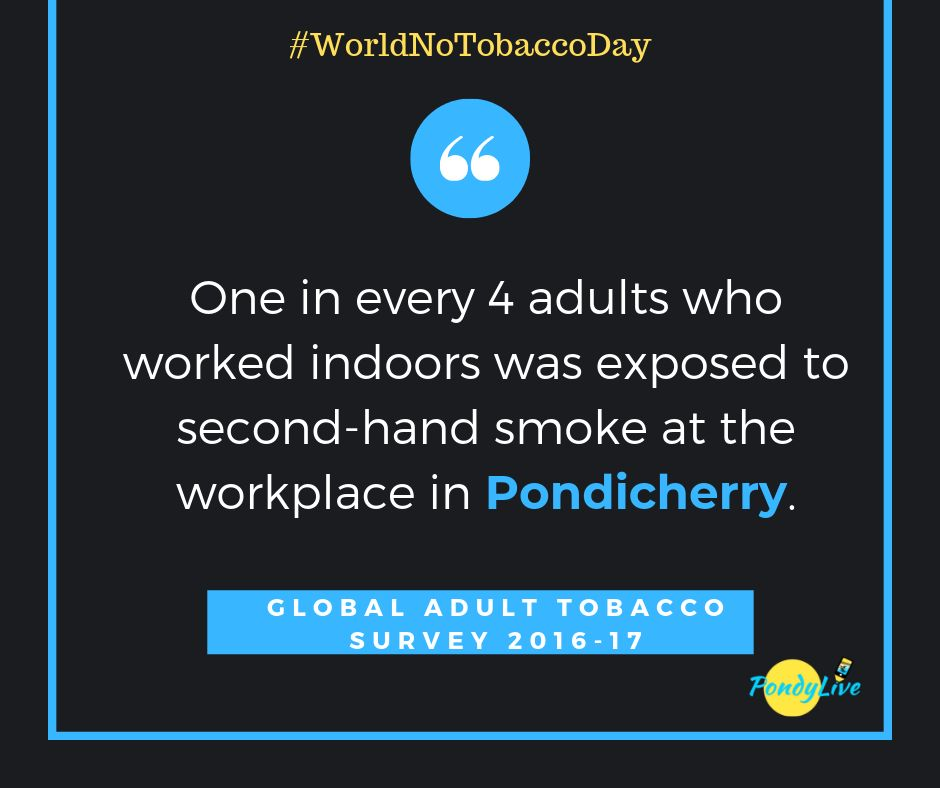 WORLD NO TOBACCO DAY 2019 PUDUCHERRY GATS SURVEY
