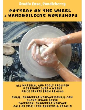 Pottery on the Wheel & Handbuilding Workshop