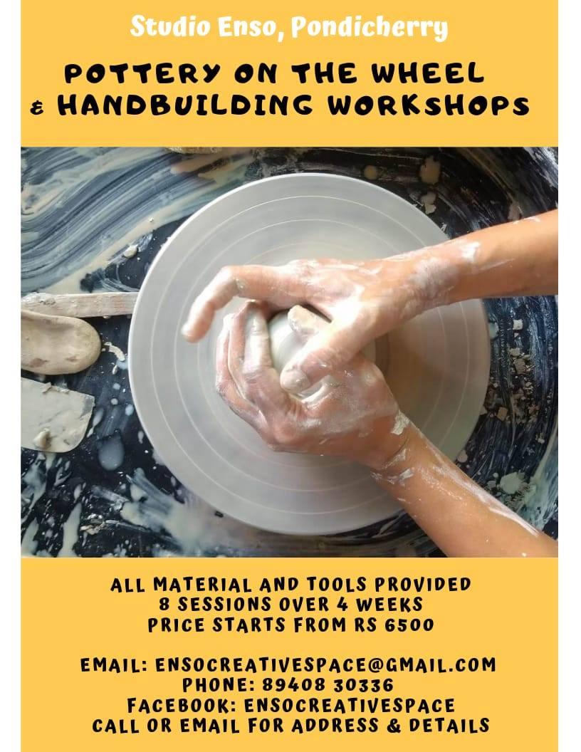 Pottery on the Wheel & Handbuilding Workshop