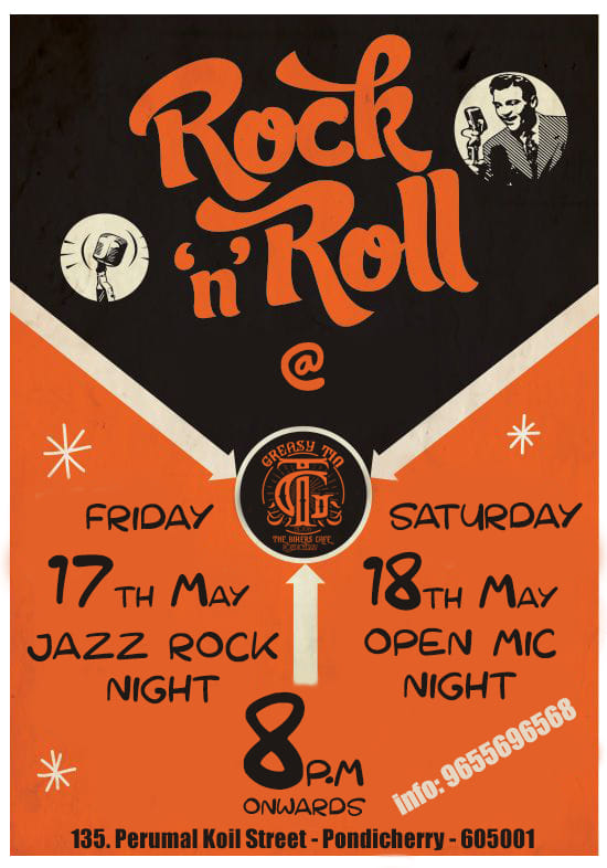 Rock N Roll Fever @ The Greasy Tin