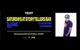 Saturday's Ft DJ Kave At Storytellers Bar
