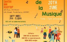 Fete De La Musique at Santhi Inn