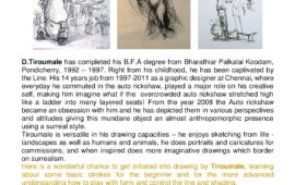 Workshop on THE BASICS IN DRAWING