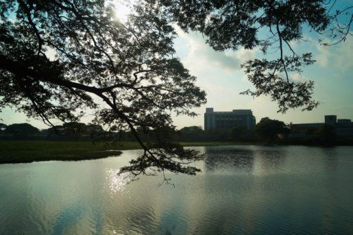 Kanagan lake in Pondicherry world environment day Eid in pondicherry