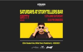 Saturdays ft Gritty at The Storytellers' Bar