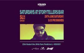 Saturdays ft Su.1 at The Storytellers Bar