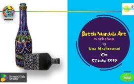 Bottle Mandala Art – Workshop