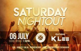 Saturday Nightout DJ KLEE