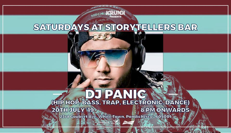 Saturdays ft DJ Panic at The Storytellers Bar