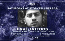 Saturdays ft Fake Tattoos at The Storytellers Bar