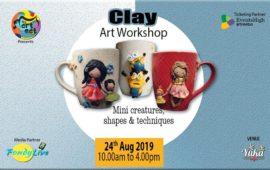 Air Dry Clay Art Workshop