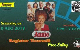 Annie 1982 movie screening