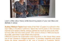 Exploring Colour with Audrey