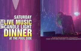 Live Music Candlelight Dinner by Pool